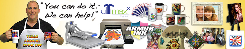 Sublimation, heat transfer, heat press, digital printing, DTG, t-shirt printing