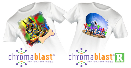 ChromaBlast Inks & Transfer Paper For Printing on Cotton