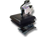 Geo Knight DC16 14x16 Digital Combo Heat Press swing away