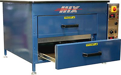 Hix Verticure-2D Garment Dryer for Direct-To-Garment Application