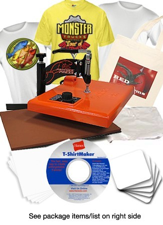 Heat Transfer Systems For T-Shirt Printing and Photo Gift Making