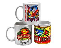 White Ceramic Sublimation Coffee Mug 11oz