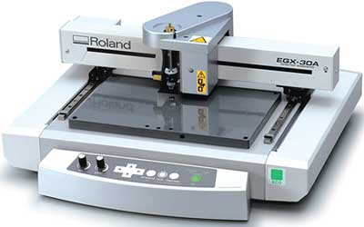 Roland Egx 30a Engraver Desktop Engraving Machine