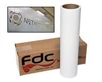 FDC 3500 Sign Vinyl Etched Glass Film 24x10
