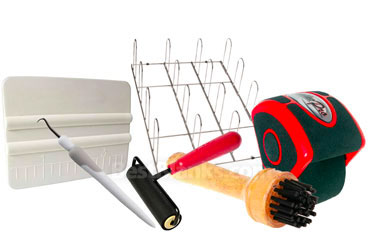 Sign Making Tools, Storage Racks, Squeegees, Brushes & More