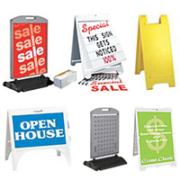 a frame signs more signicade minicade etc