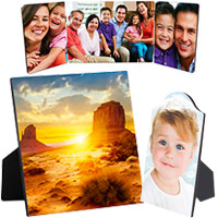 ChromaLuxe Easel & Hinged Photo Panels
