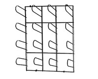 Chrome Plated Wall Mount Material Rack