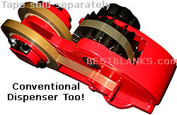 Tape Dispenser Definite Length Manual Tape Cutter Dispenser