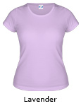 Vapor Apparel Basic Ladies Classic T - Lavender