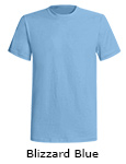 American Back Country Short Sleeve T shirts - Blizzard Blue