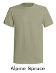 American Back Country Short Sleeve T shirts - Alpine Spruce