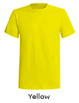 American Back Country Short Sleeve T shirts - Yellow