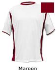 Vapor Apparel Micro-Fiber Mens Phenom T Shirt - Maroon