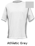 Vapor Apparel Micro-Fiber Mens Phenom T Shirt - Athletic Grey