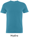 Vapor Apparel Mens Repreve Micro Raglan T Shirt - Hydro