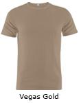 Vapor Apparel Mens Repreve Micro Raglan T Shirt - Vegas Gold