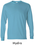 Vapor Apparel Mens Solar Performance Long Sleeve T Shirt - hydro