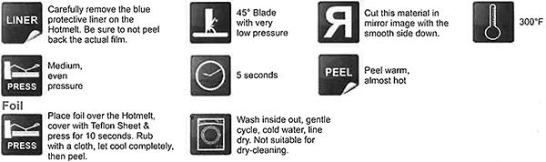 Textile Foils