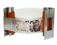 Cat Bowl Snap Wrap for sublimation