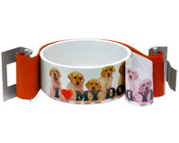 Dog Bowl Snap Wrap for sublimation