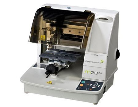 Gravograph M20 PIX Impact Engraver and Printer