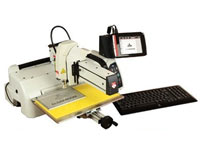 Gravograph M40ABC EasyGrave Flatbed Rotary Engraver