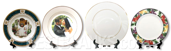 Sublimatable Ceramic Plates