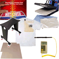 Heat Press Accessories: Stain Protection, Cleaners, Tools, Etc