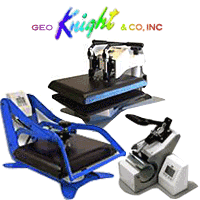 Geo Knight Heat Presses