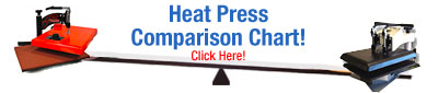 Heat Press Comparison Chart