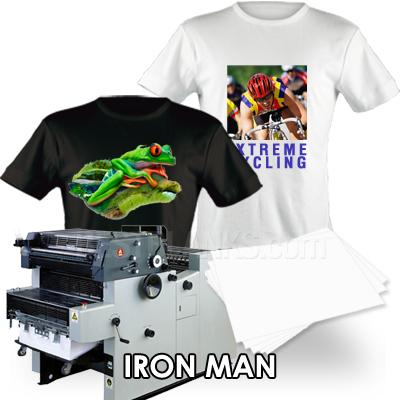 Neenah Iron Man Offset Heat Transfer Paper