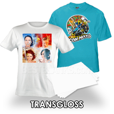 TransGloss For Inkjet & Laser Transfer Paper