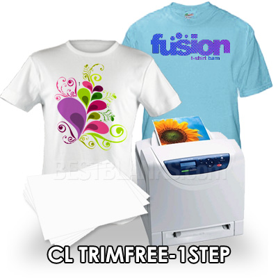 CL-TrimFree-1Step Transfer Paper For Laser Printers & Copiers
