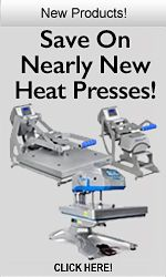 Save On Nearly New Heat Presses!