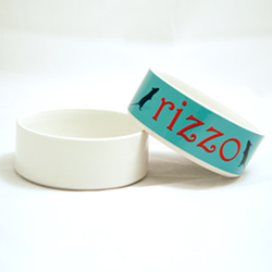 Blank Pet Bowls For Dogs And Cats Sublimation Ready