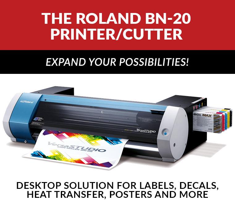 Roland BN-20 Printer Cutter