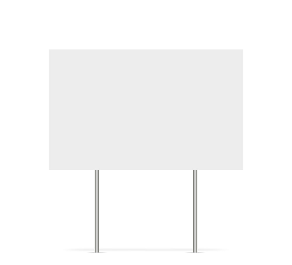 Outdoor Sign Blank
