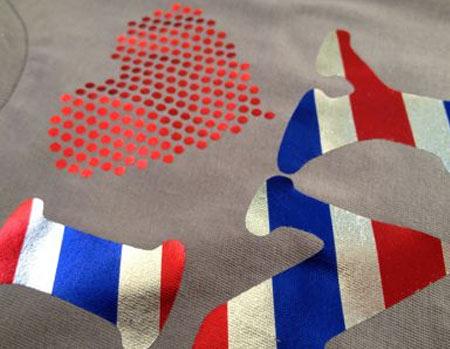 Textile Foils - Patterns and Holographics