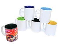 Two Tone Ceramic Sublimation Coffee Mug 11oz (12 Pc Min/36 Per Case)